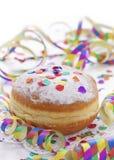 Das traditionelle Pfannkuchen Krapfen Lizenzfreies Stockbild