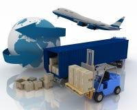 Das Transportieren sind Eingaben Stockfotos