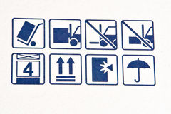 Das Transportzeichen Lizenzfreie Stockbilder