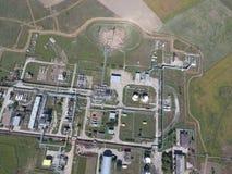 Das Trennungssystem, Draufsicht Aerophotographing-Stationstrennung und -dehydrierung Lizenzfreie Stockfotos