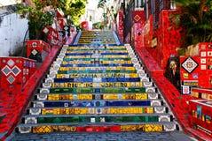 Das Treppenhaus Selaron Lizenzfreie Stockfotografie