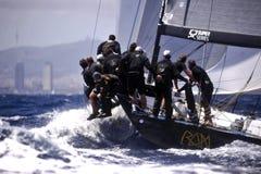 40º, das Trophy Conde de Godo segelt Stockfotografie