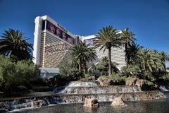 Das Trugbild auf dem Streifen in Las Vegas lizenzfreies stockfoto