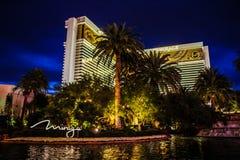 Das Trugbild, das Hotel u. das Kasino, Las Vegas, Nanovolt stockfoto