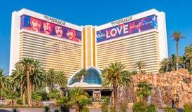 Das Trugbild-Hotel und das Kasino stockbilder