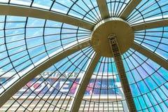 Das Trugbild-Hotel und das Kasino aus seinem Atrium heraus stockfoto