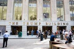Das Trumpf-Gebäude Lizenzfreies Stockfoto
