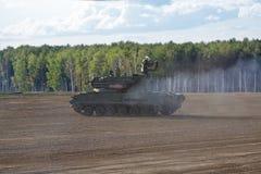 Das Tunguska SA-19 Grison lizenzfreie stockfotos