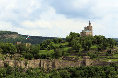 Das Tzarevetz Schloss Lizenzfreie Stockbilder