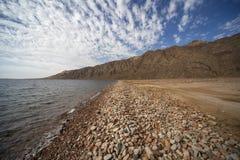 Das Ufer des Roten Meers Stockbild