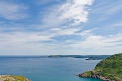 Das Ufer von Neufundland lizenzfreies stockfoto