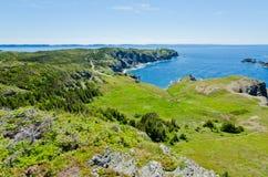 Das Ufer von Neufundland stockfotografie