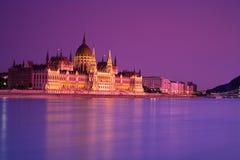 Das ungarische Parlament Stockbild