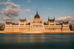 Das ungarische Parlament Lizenzfreies Stockfoto