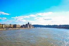 Das ungarische Parlament Lizenzfreie Stockbilder