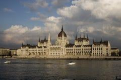 Das ungarische Parlament in Budapest Lizenzfreie Stockfotos