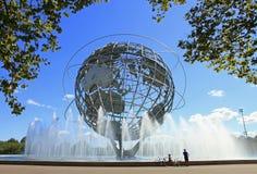 Das Unisphere in New York Stockbild