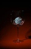 Das unterbrochene Glas Stockfotos