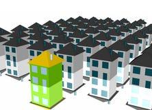 Das unterschiedliche Haus ein Geschäfts-Konzept vektor abbildung
