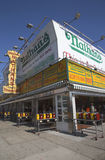 Das ursprüngliche Restaurant Nathan s bei Coney Island, New York Stockfotografie