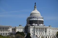 Das US-Kapitol Lizenzfreie Stockfotos