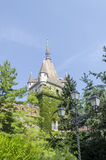 Das Vajdahunjad-Schloss in Budapest, Ungarn Lizenzfreie Stockfotografie