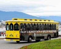 Das Vancouver Trolley Company Stockfoto