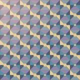 Das Vektormuster Mosaikart stock abbildung