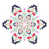 Das Vektorzusammenfassungsbild der Mandala Lizenzfreie Stockfotos