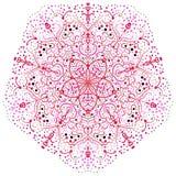 Das Vektorzusammenfassungsbild einer Blume Stockfoto