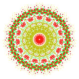 Das Vektorzusammenfassungsbild einer Blume Lizenzfreie Stockfotos