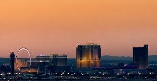 Das venetianische, das Palazzo und Wynn Casinos Stockfotos