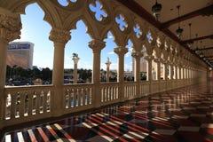 Das venetianische Hotel Stockfotos