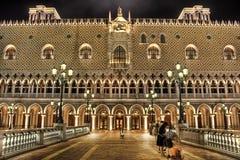 Das venetianische Hotel Stockbild