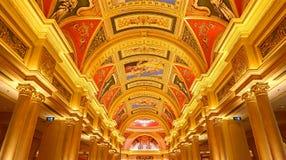 Das venetianische Hotel, Macao Lizenzfreies Stockbild
