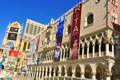 Das venetianische Rücksortierung-Hotel-Kasino in Las Vegas Stockfotografie