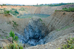 Das verlassene Bergwerk Lizenzfreie Stockbilder
