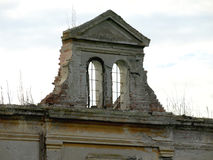Das verlassene Schloss stockbild