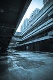Das verlassene Stadtgebäude Stockfoto