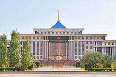 Das Verteidigungsministerium des Republik Kasachstan Astana, K stockbilder