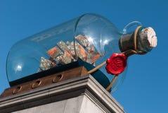 Das vierte Plinth Trafalgar Quadrat lizenzfreie stockfotos