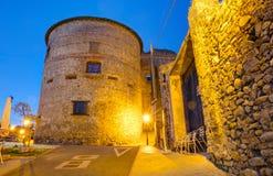 Das Villafranca Del Bierzo Castle Stockfotos