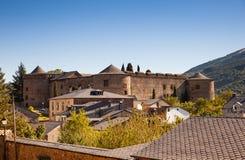 Das Villafranca Del Bierzo Castle Stockbild