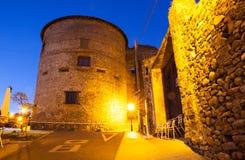 Das Villafranca Del Bierzo Castle Lizenzfreie Stockbilder