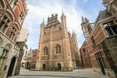 Das Vleeshuis in Antwerpen Stockfotografie