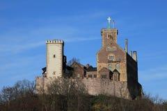Das Wartburg-Schloss lizenzfreie stockbilder