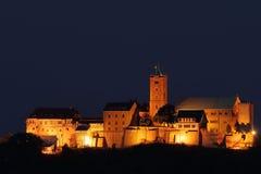 Das Wartburg-Schloss bei Eisenach in Deutschland lizenzfreie stockfotos