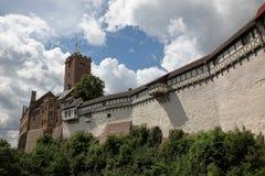 Das Wartburg-Schloss in Deutschland stockfoto