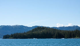 Das Wasser von Alaskas Prinzen William Sound Lizenzfreie Stockfotografie