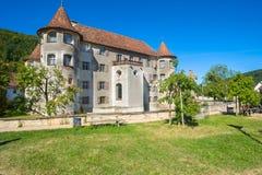 Das Wasserschloss von Glatt Lizenzfreie Stockfotografie
